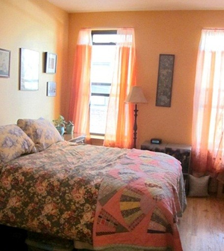 Lady Gaga's old bedroom in Manhattan, New York.