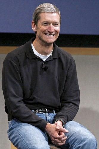 Tim Cook Smiling