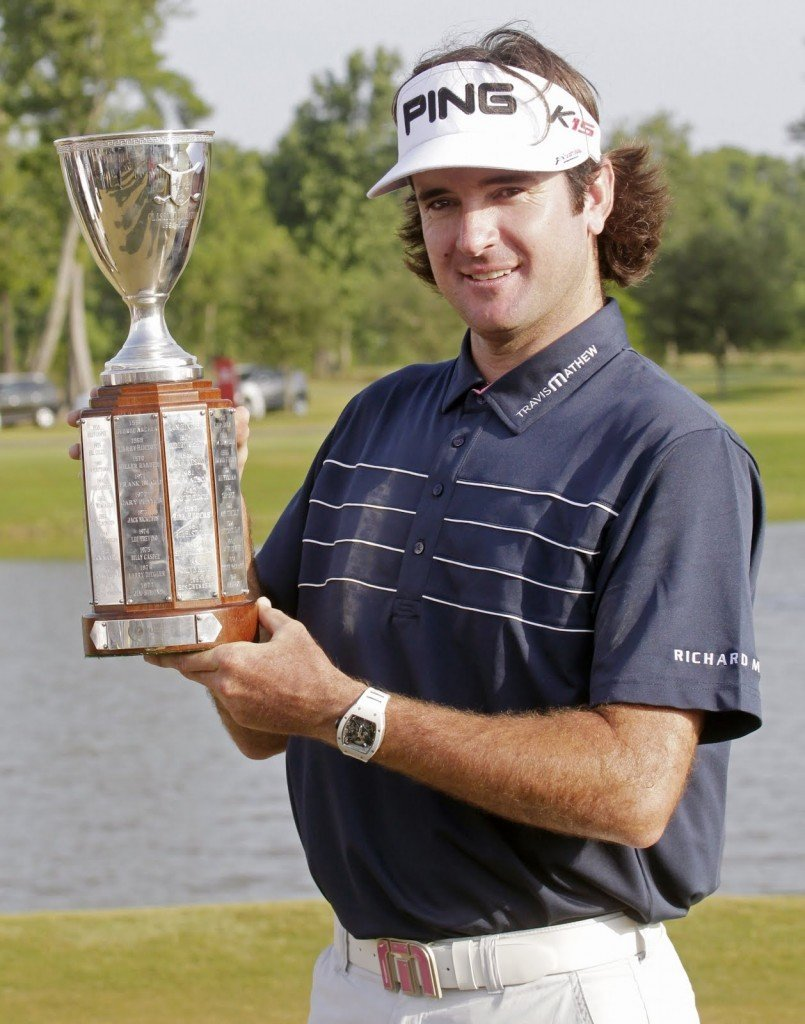 How much is Bubba Watson worth?