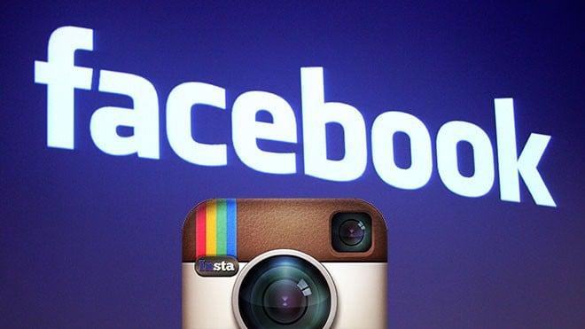 Facebook Instagram logos