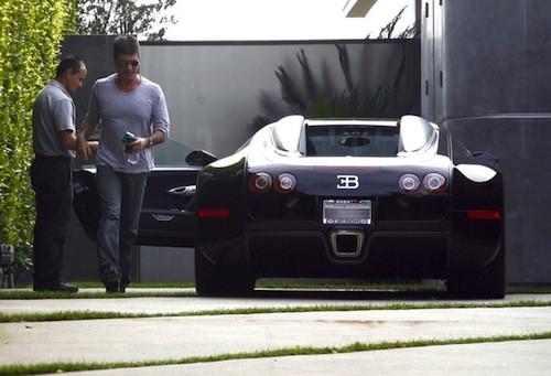 Simon Cowell's Bugatti Veyron