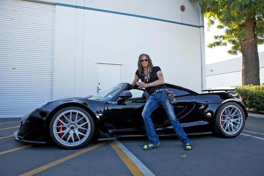 Steven Tyler's Venom GT Spyder