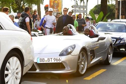 Kanye West's car