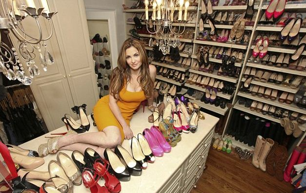 Beth Shak $1 Million Shoe Collection