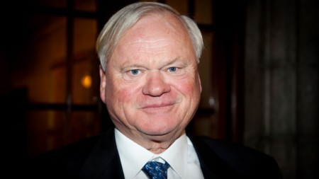 The 73-year old son of father (?) and mother(?), 176 cm tall John Fredriksen in 2017 photo