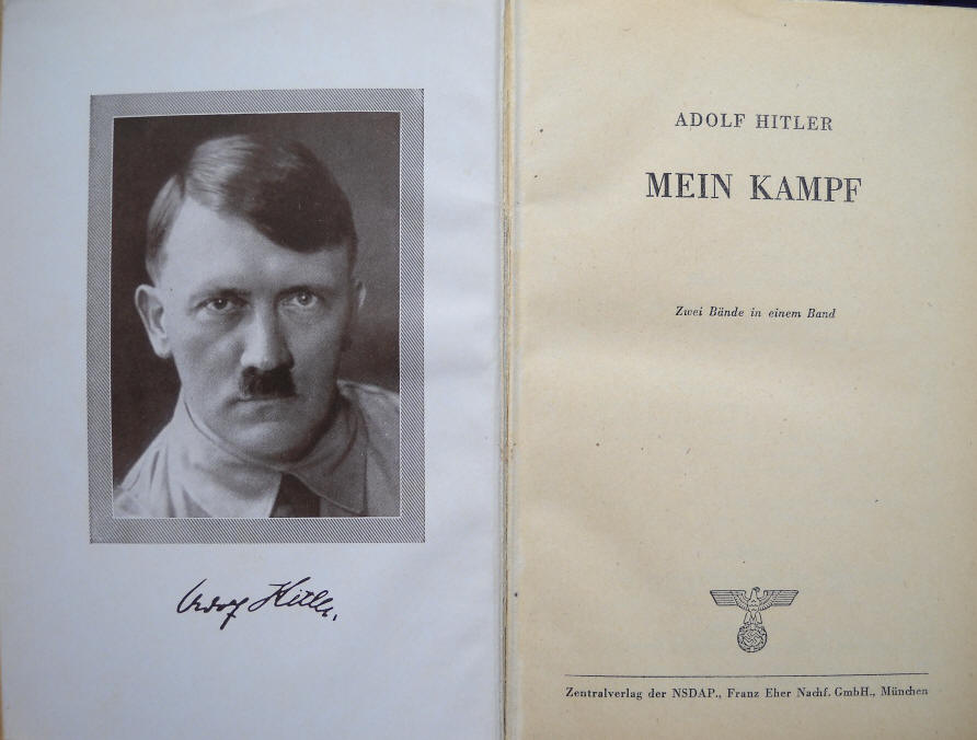 Mein Kampf inside Cover