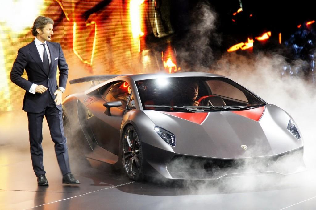 Lamborghini Sesto Elemento Paris Auto Show