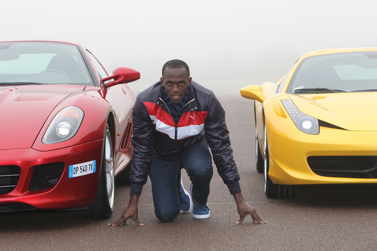 Usain Bolt Car Collection