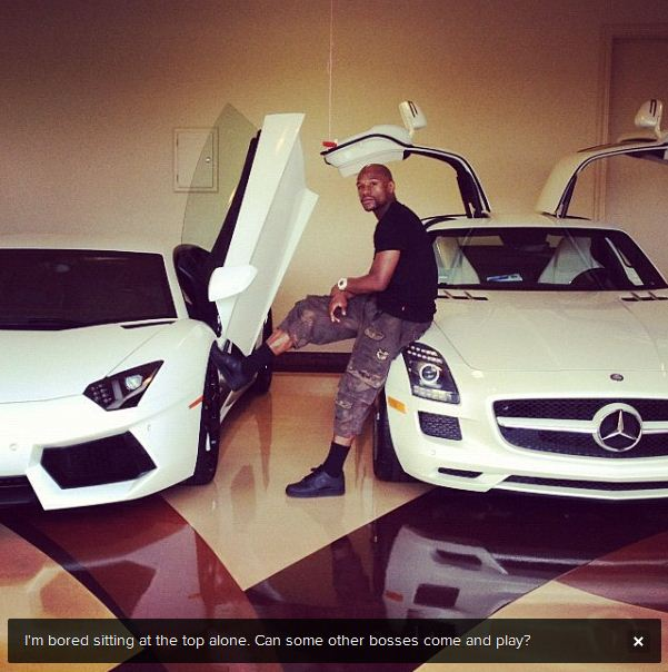 Floyd Mayweather Cars