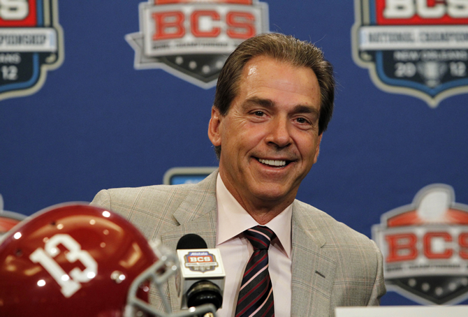 Nick Saban - Highest Paid Coach