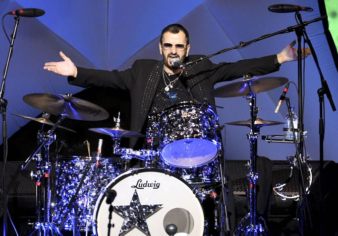 Ringo Starr - The Richest Drummers