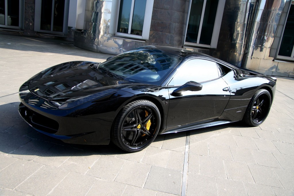 Ferrari 458 Black