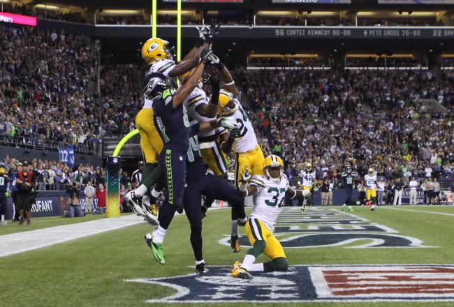 Packers Seahawks blown referee call