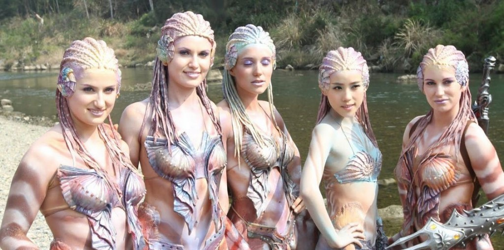Mermaids from Empires of the Deep