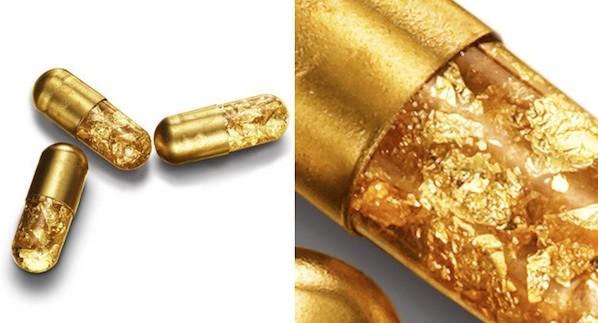24 Karat Gold Pills