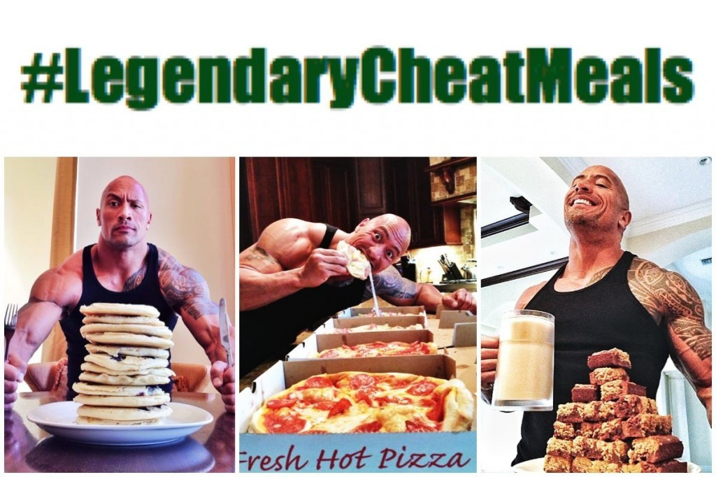 Dwayne Johnson Diet