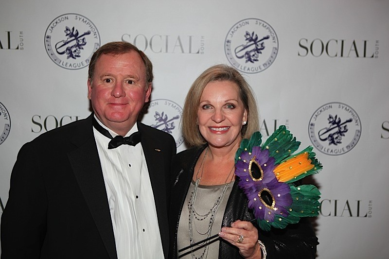 Leslie Lampton and wife