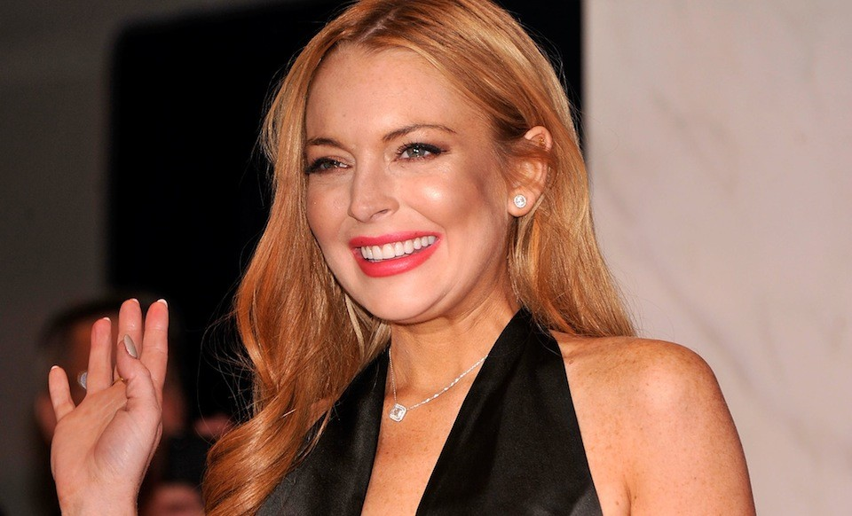 Lindsay Lohan Looking Pretty