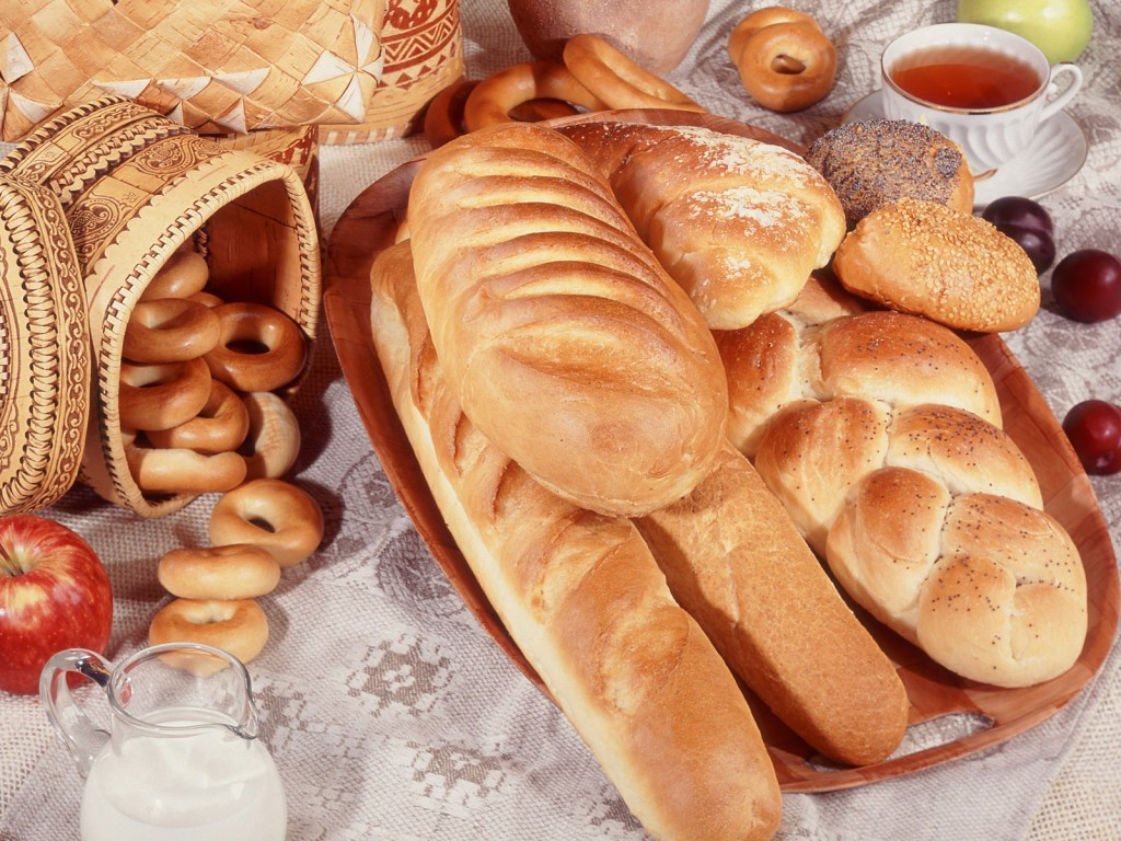 Bagles, bread and pastries