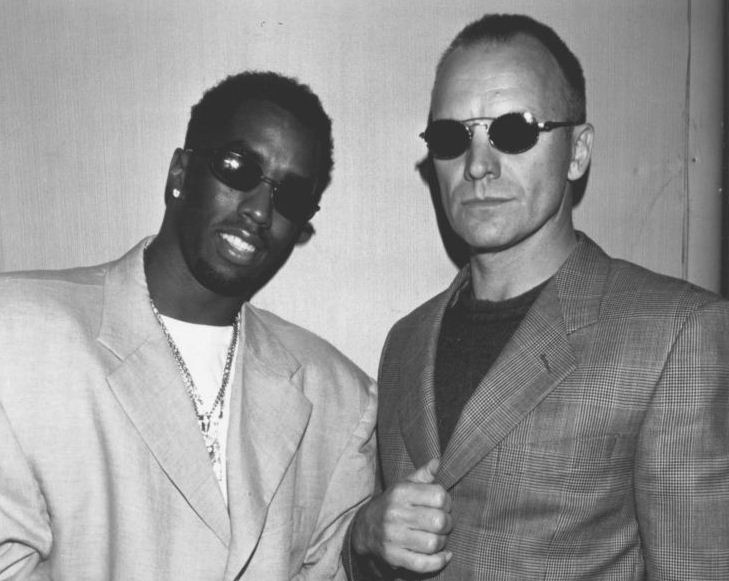 Sting and Diddy