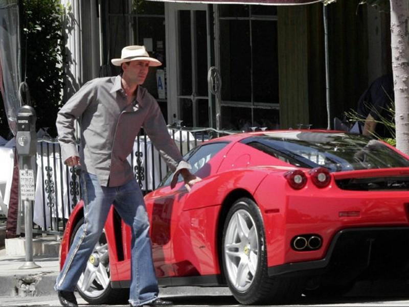 Nick Cage Ferrari