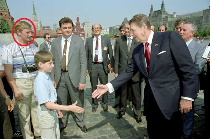 Did Vladimir Putin meet Ronald Reagan as an undercover KGB ...