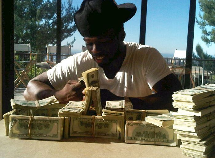 50 Cent Cashes In