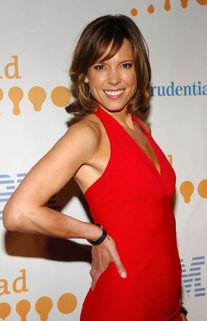 Hannah Storm red dress