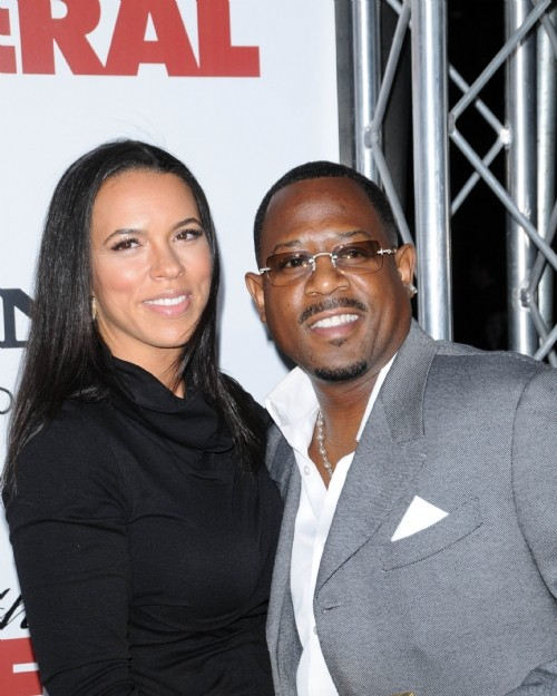 Shamicka and Martin Lawrence