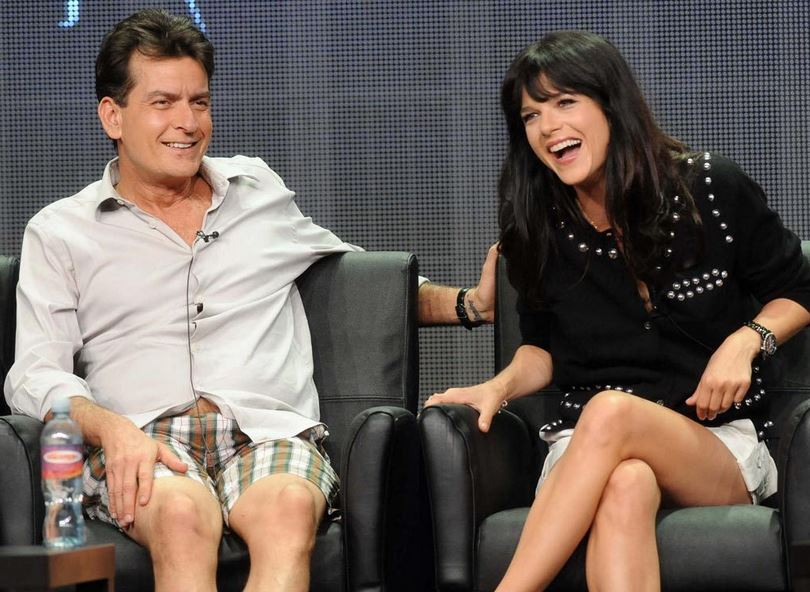 Charlie and Selma Blair
