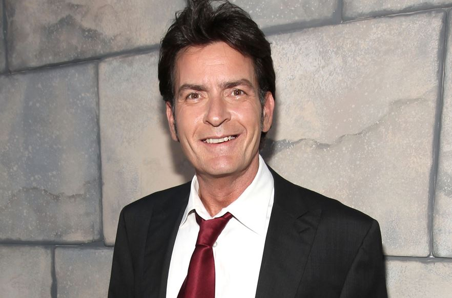 Charlie Sheen Smiling