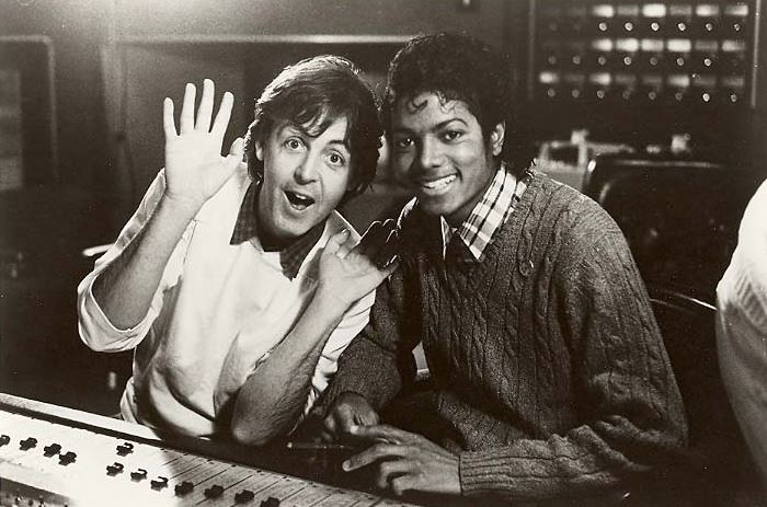 McCartney and Michael Jackson