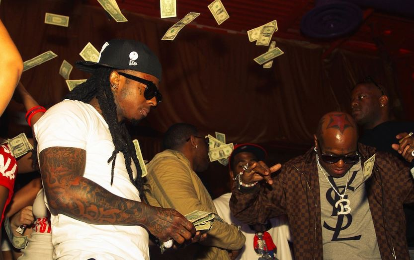 Lil Wayne Makes It Rain
