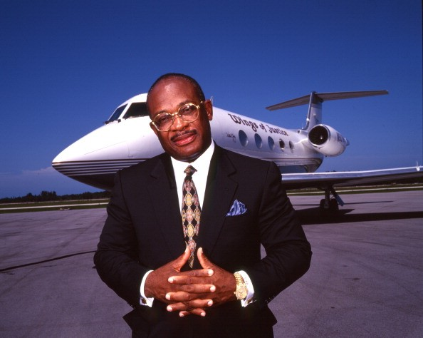 Willie E. Gary private plane