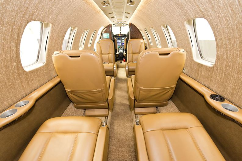 Puddle Jumper Interior