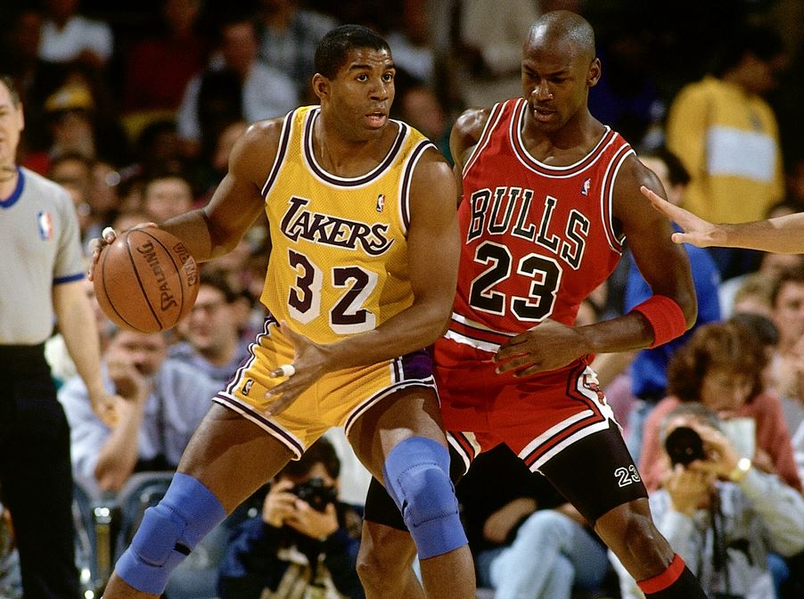 Magic and Jordan