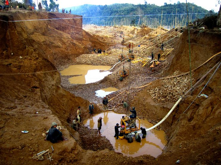 best gold mines in the world