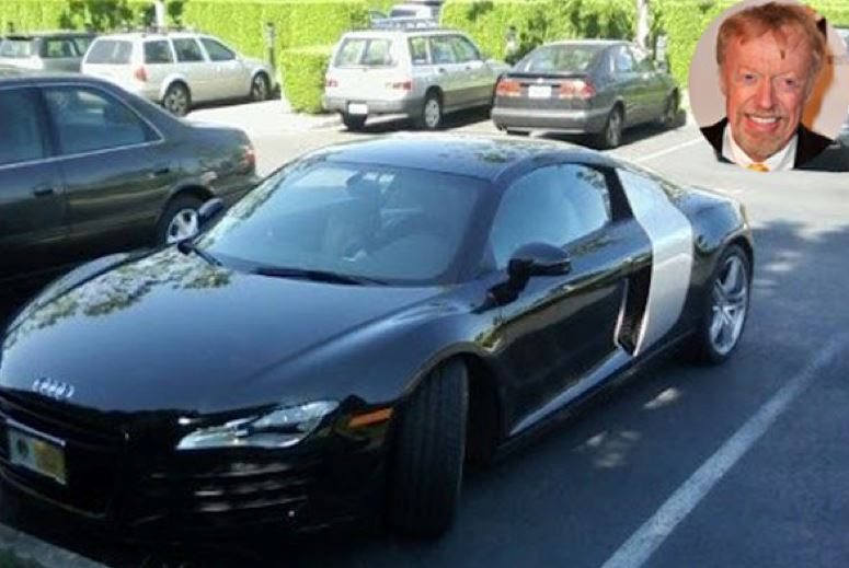 Phil Knight's Audi R8 Parking Space