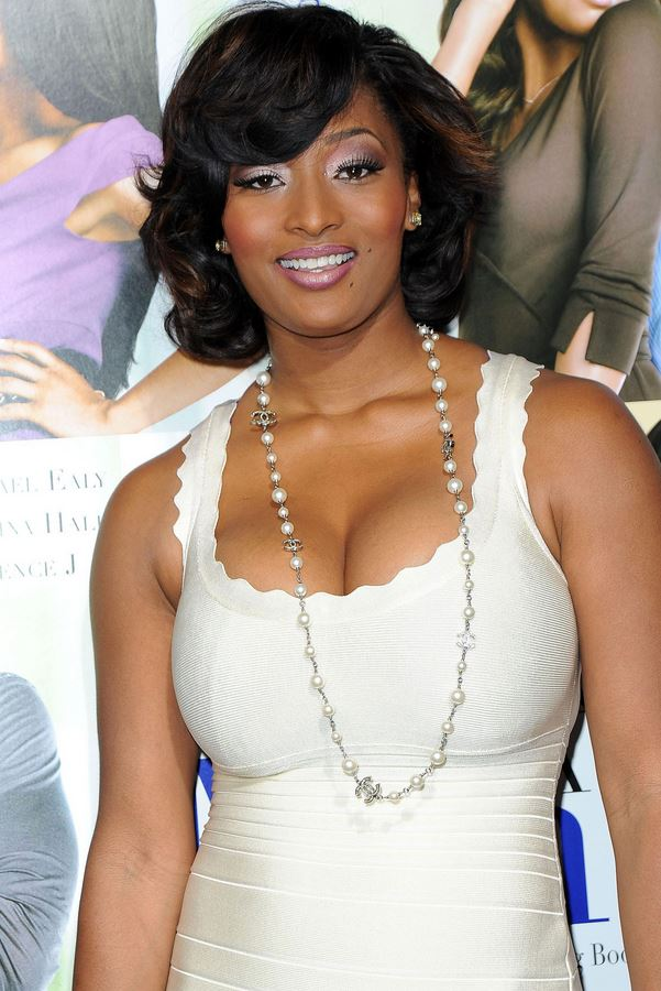 Toccara Jones white dress