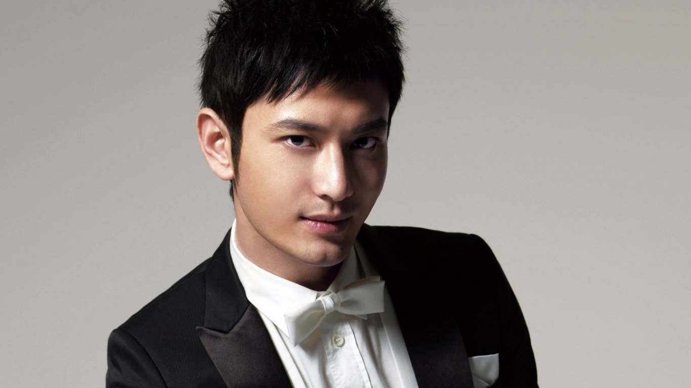 Huang Xiaoming HD computers desktop free wallpapers 8_1366x768