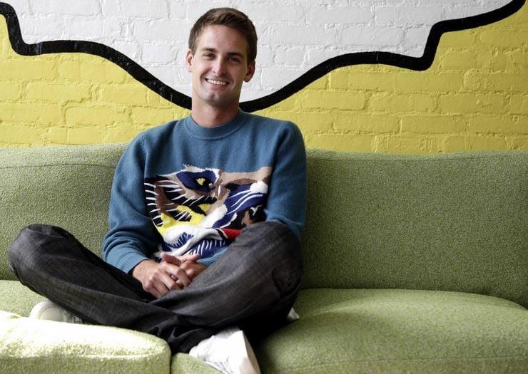 Snapchat's Evan Spiegel