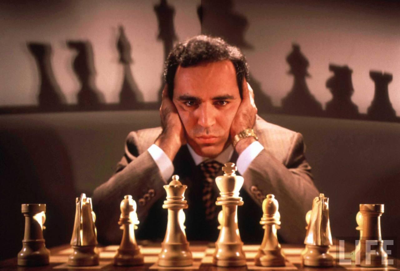 7.  Garry Kasparov