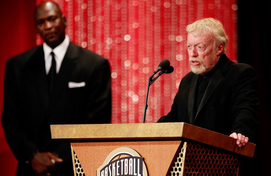 Michael Jordan and Phil Knight