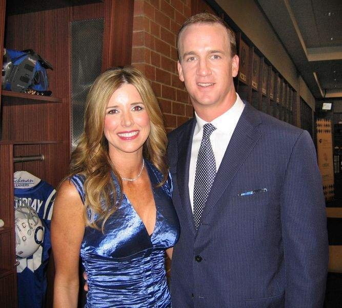 Peyton Manning with beautiful, Wife Ashley Thompson