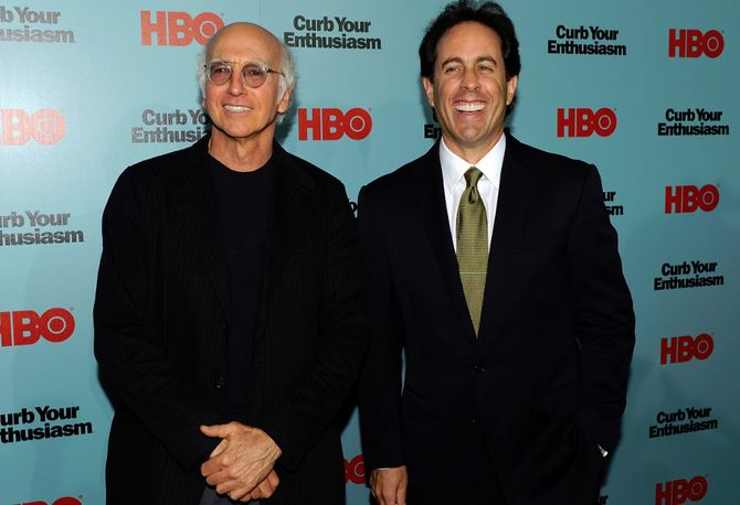 Larry David & Jerry Seinfeld