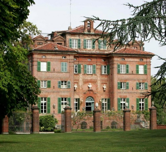 Prince Al-Waleed Bin Talal's Castle in Turin, Italy.
