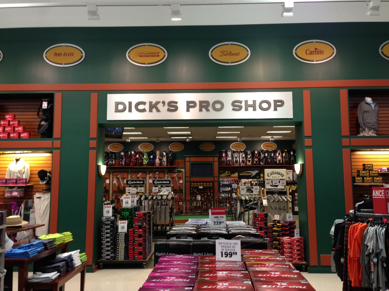 Dicks sporting goods golf