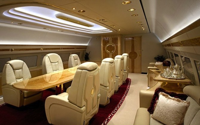 The Amazing Private Jets Of The Rich Famous And Notorious