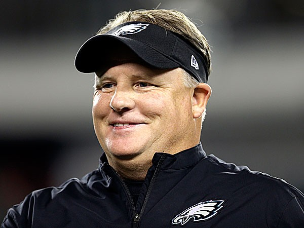 chip kelly how tall