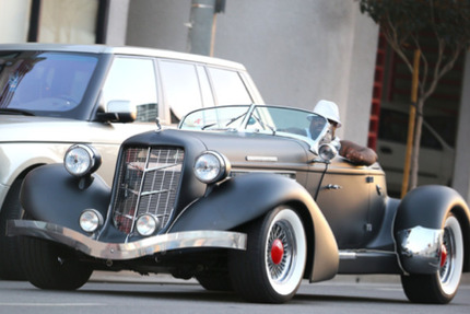 Cee Lo Green's Car:  Taking Funky for a Ride